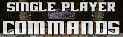 Single Player Commands ��� Minecraft 1.6.2/1.5.2