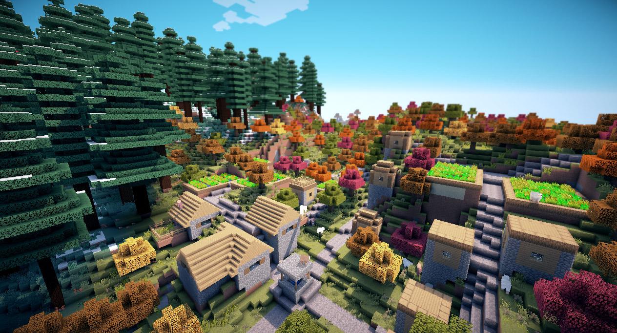 Minecraft 1. 11 seus 10. 1 ultra shaders youtube.