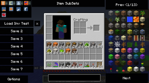 Not Enough Items для Minecraft 1.8/1.7.10/1.7.2/1.6.4/1.6.2