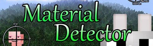 Material Detector мод для Minecraft 1.8/1.7.2/1.6.4