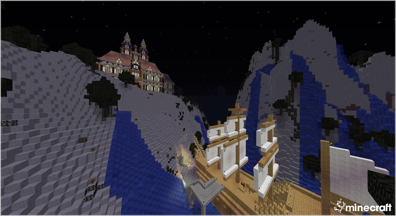 Скачать Карта Механический дом для Minecraft 1.7.2