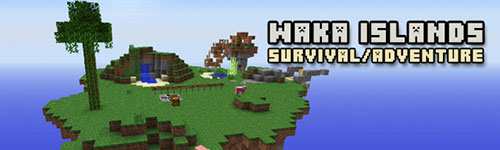����� Waka Islands ��� Minecraft 1.7.4/1.7.2/1.6.4