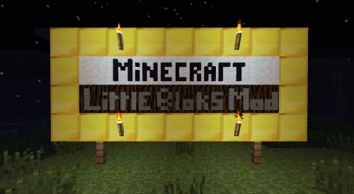 Мод Little Blocks для Minecraft 1.6.4/1.6.2/1.5.2