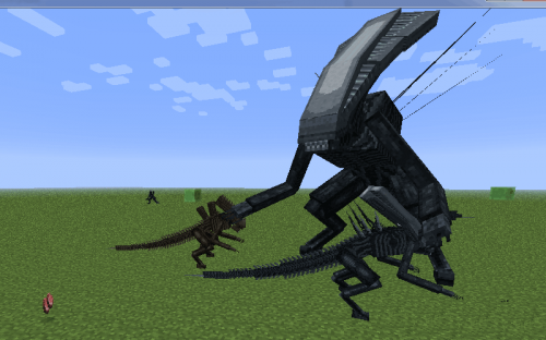 Мод Aliens vs Predator для Minecraft 1.7.2/1.6.4/1.6.2/1.5.2