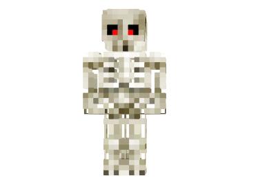 скачать скин скелет