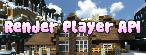 Render Player API для Minecraft 1.7.10/1.7.2/1.6.4/1.5.2