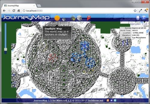 Мод journeymap для minecraft 1 7 10 1 7 2