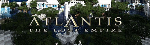 Карта Atlantis – The Lost Empire для Minecraft