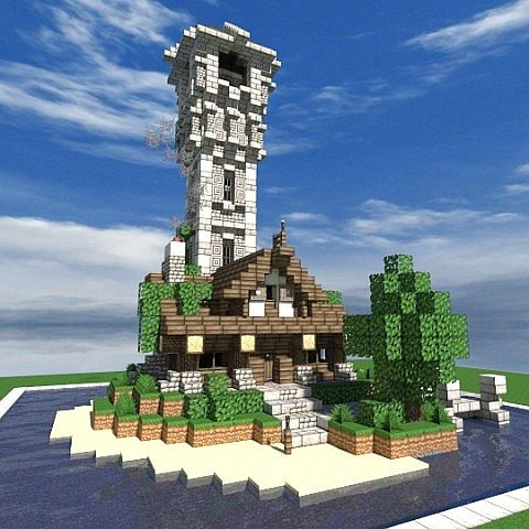 Карта Reinhart City Buildpack для Minecraft