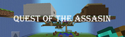 Карта Quest of the Assasin для Minecraft PE 0.8.1