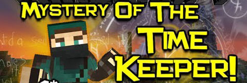 Карта Mystery of the Time Keeper для Minecraft 1.8