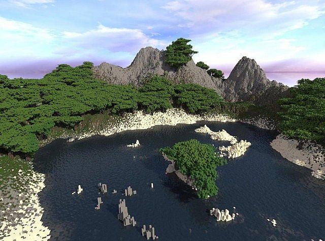скачать карту для Minecraft остров - фото 6