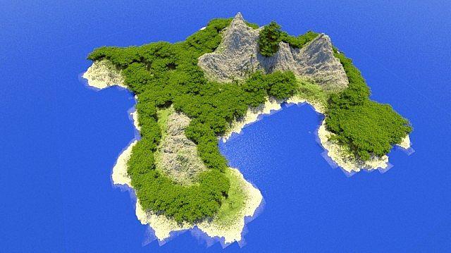 скачать карту для Minecraft остров - фото 7