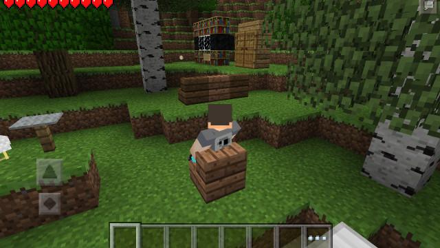 Мод furniture для minecraft pe 0 8 1