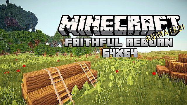 скачать ресурс пак faithful 64x64 для minecraft 1.7.10