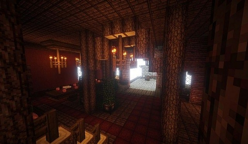 Карта Brickston Manor для Minecraft 1.7.10/1.7.2/1.6.4