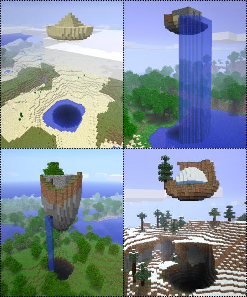 Мод floating ruins для minecraft 1 7 10 1 7 2 1 6 4 1 5 2