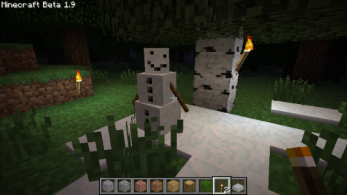 Мод Pumpkin-less Snow Golem для Minecraft 1.7.10/1.7.2/1.6.4/1.5.2