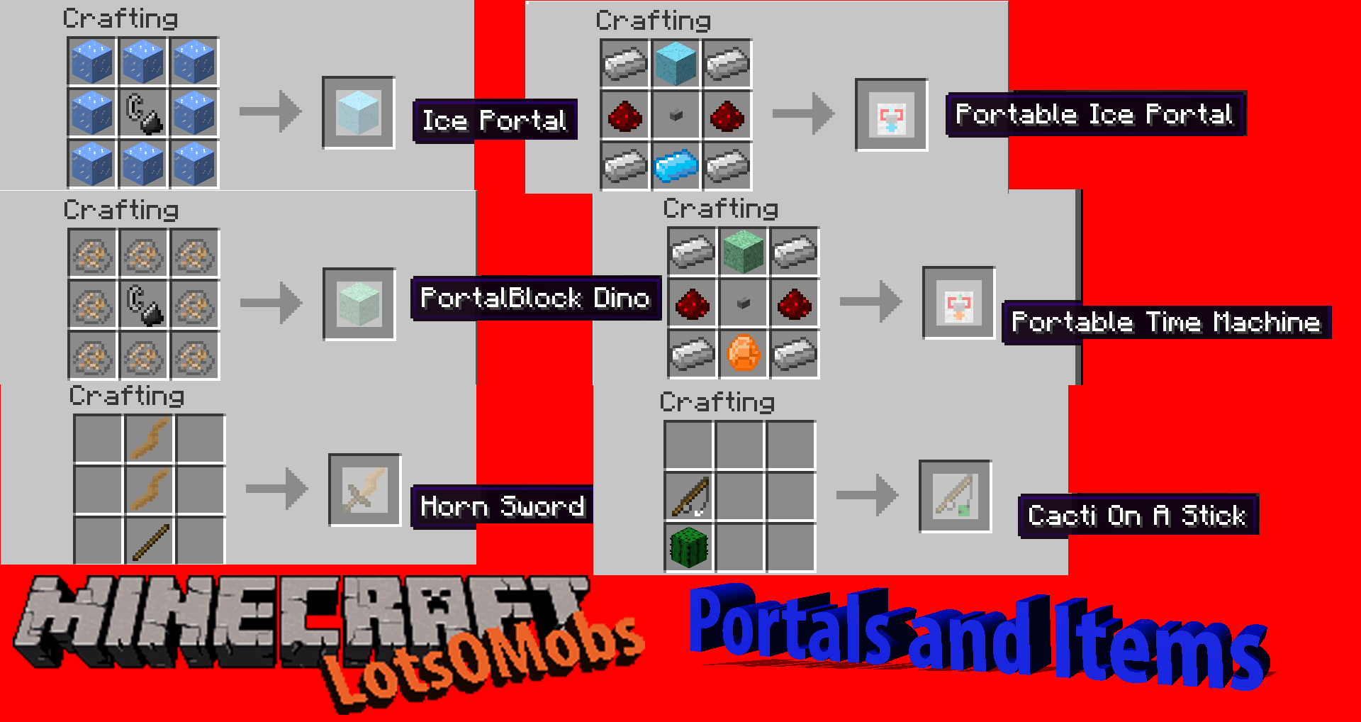 lotsomobs mod for minecraft 1.6.2