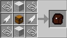 Как сделать рюкзак в майнкрафте 1.8.3 рюкзак grizzly мл/кл ra-541-7 в компл.мешок д/обуви темно-синий 0561