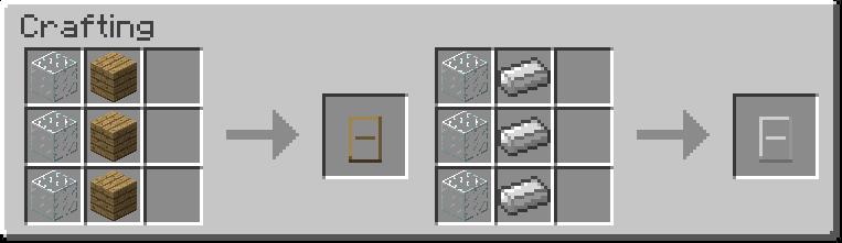 Как сделать в minecraft дверь фото 286