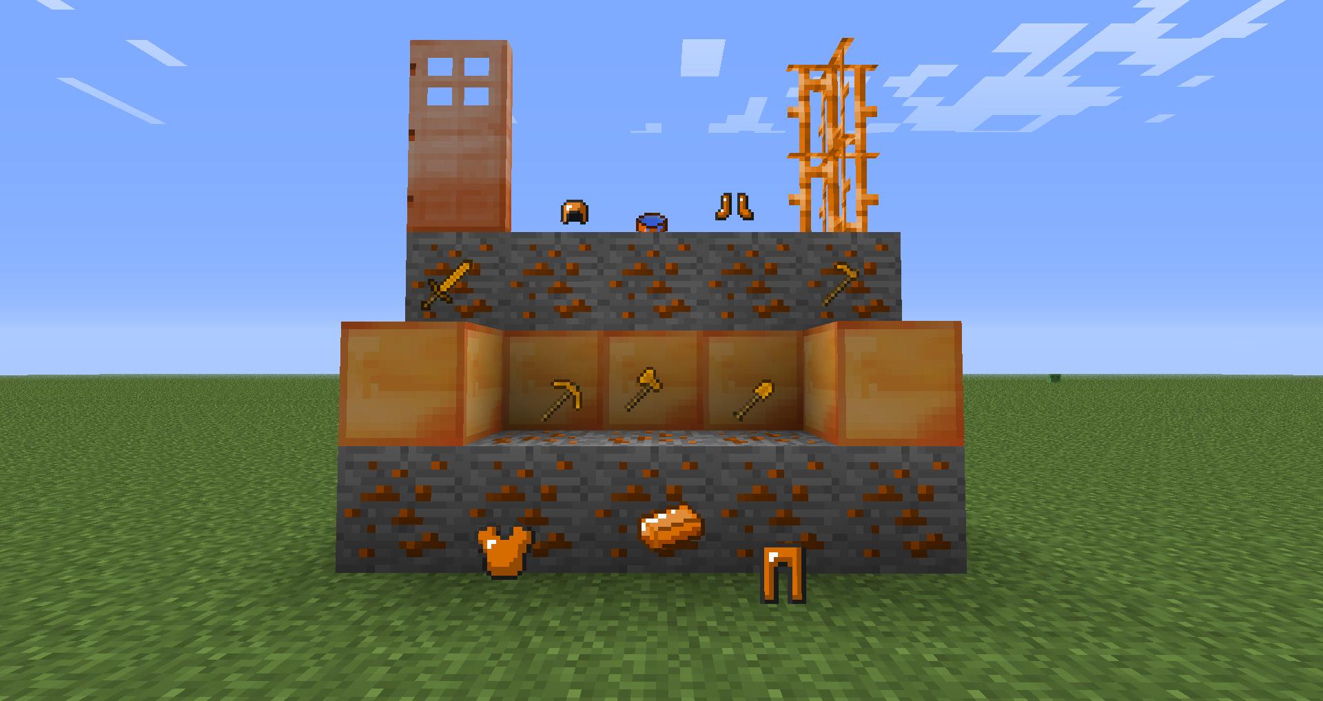 Мод на руды m-ore 1. 7. 10/1. 8. 9/1. 9. 4/1. 10. 2 – скачать на minecraft.