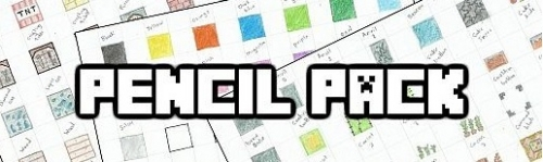 Ресурс-пак Pencil Pack – Hand Drawn для Minecraft 1.8/1.7.10/1.7.2
