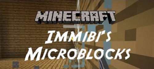 Мод Immibis's Microblocks 1.7.10/1.7.2/1.6.4/1.5.2