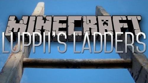 [1.7.10-1.6.4] Ladders - Больше лестниц